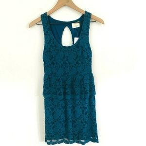 NWT! Pins & Needles Lace Mini Dress XS